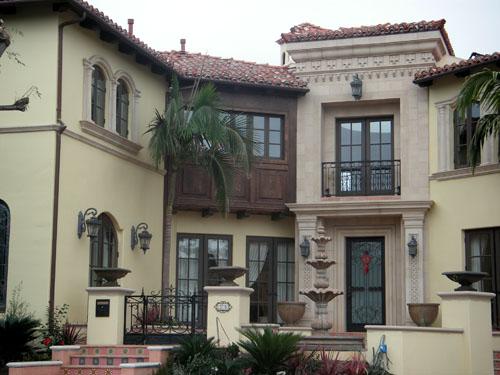 Main Entrance & Balcony - APS Precast