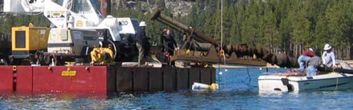 Marine Construction - Underwater Resources, Inc.