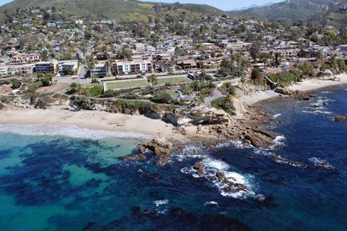 Laguna Beach - Warren Air Video and Photography Inc.