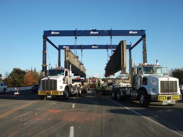 Cypress Avenue Bridge Replacement - Bigge Crane and Rigging Co.