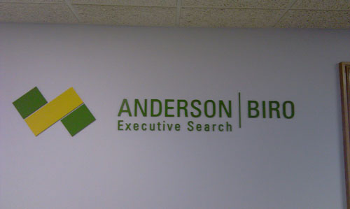 Interior Dimensional Lettering - Signs PDQ, Inc.