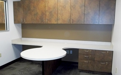 Customized Cabinetry & Millwork: Atlanta, GA Airport - Metro Woodcrafter, Inc.