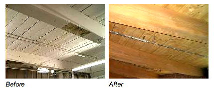 Sandblasting - Before & After - A S A P Inc.