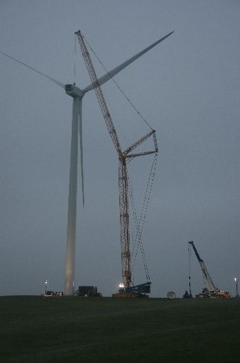 Wind Turbines - McPherson Crane & Rigging, Inc.