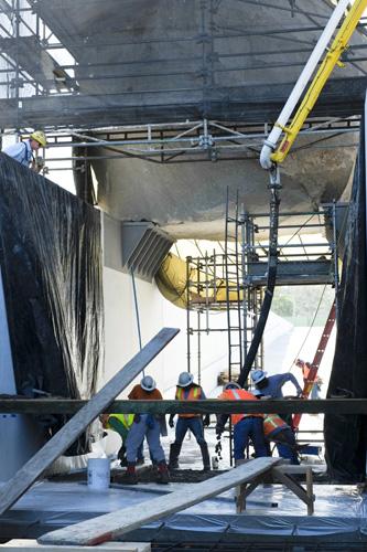 Concrete Construction  - Southern Cal Concrete Pumping