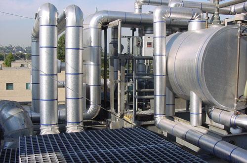 Ammonia Refrigeration System 2 - Kerco Inc. - Mechanical Insulation