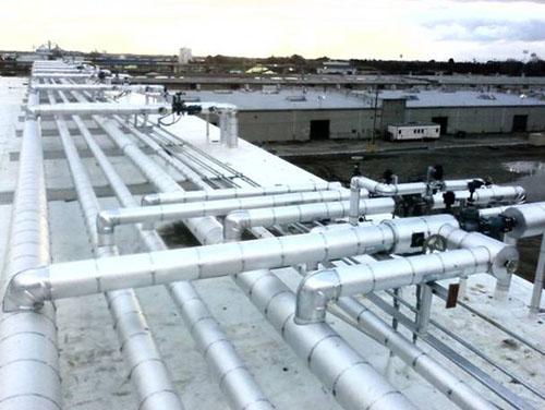 Ammonia Refrigeration System 1 - Kerco Inc. - Mechanical Insulation