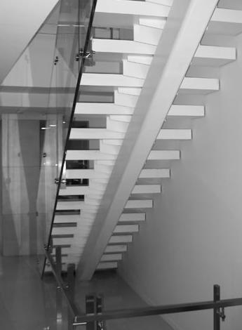 Residential Stairs  - Hallen Steel-Div. of Hallen Welding Service Inc.