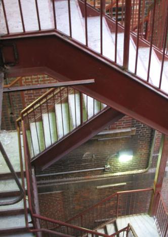Emergency Egree Stairs & Rails  - Hallen Steel-Div. of Hallen Welding Service Inc.