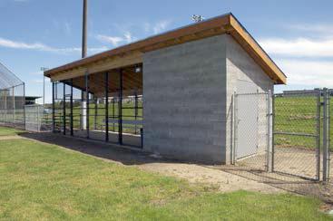 Parkrose High School New Dugouts - Paradigm Construction LLC