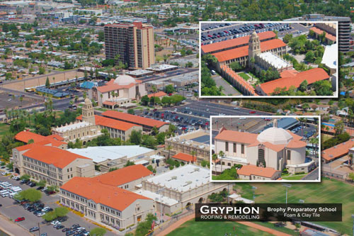 Brophy Preparatory School - Gryphon Roofing & Remodeling