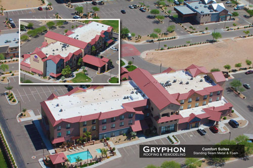 Comfort Suites - Gryphon Roofing & Remodeling