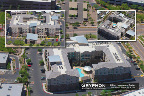 Hilton Homewood Suites - Gryphon Roofing & Remodeling