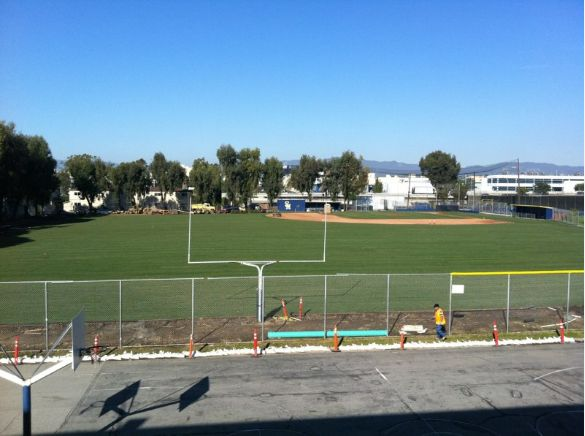 Athletic Field Reconditioning - South Bay Landscaping Inc.