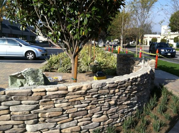 Decorative Wall - South Bay Landscaping Inc.