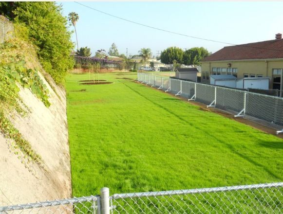 Elementary School Yard - South Bay Landscaping Inc.