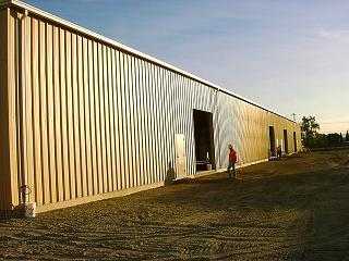 Steel Building - Pre-Engineered - Public Works - Gonzales Construction