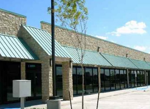 Metal Awnings Dallas Ocean Prime · Metal Awning