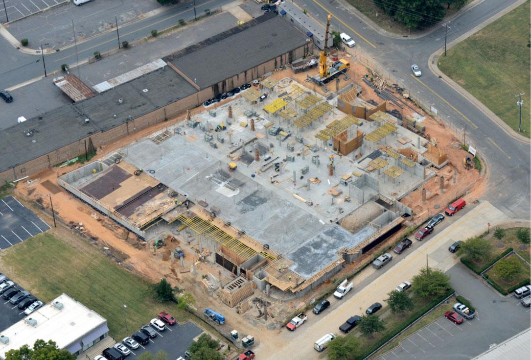 1449 South Church Street Apartments -Elevated Deck  - Kent Companies Carolinas