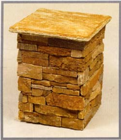 Natural Stone Venner and Cap - Imperial Building Materials Inc.