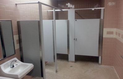 Bathroom Partitions  - Inland Empire Architectural Specialties Inc.