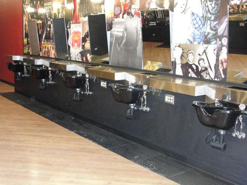 Hair Washing Sink Station - Accomplished J Plumbing
