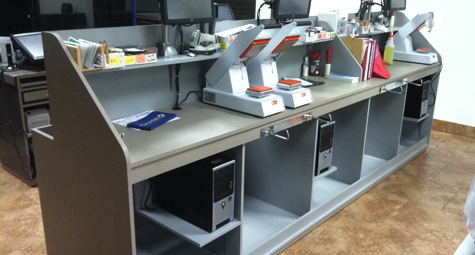 Special Solid Surface Work Station