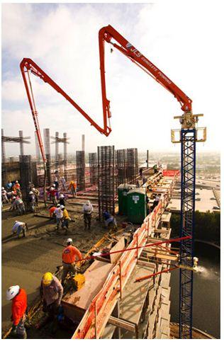 Largo Concrete Nexus Towers  - JLS Concrete Pumping & Conveying