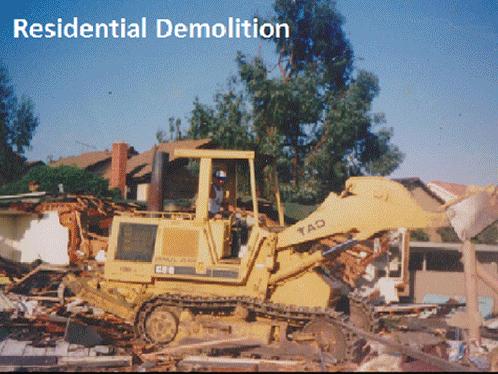 Demolition Services  - The Lane Company