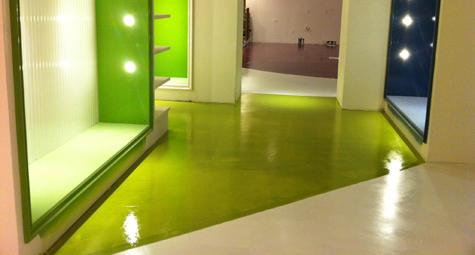 Cfc concrete floor coatings inc santa ana california for Colored concrete floors