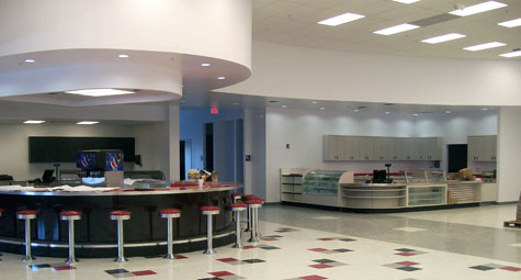 50's Diner Counters & Display Cases - Valley Fixtures and Installers, Inc.