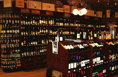 Bentley's Wine Display - Valley Fixtures and Installers, Inc.