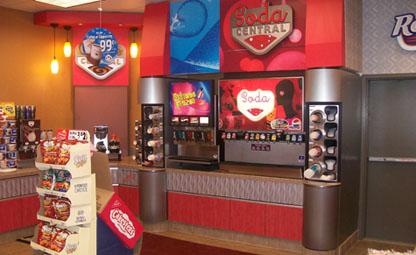 Beverage Counter for Quik Stop - Valley Fixtures and Installers, Inc.