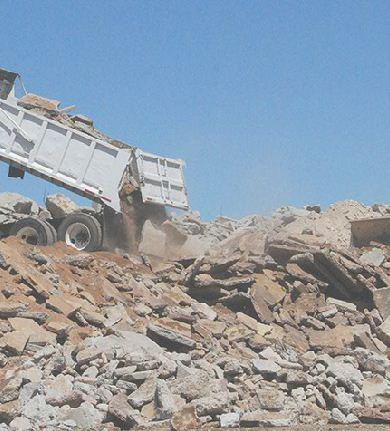 We Recycle Asphalt, Concrete, Rock and Dirt - Arizona Landfill, LLC
