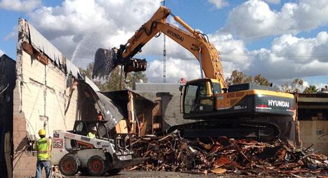 On Site - Demolition  - Brannon Corporation