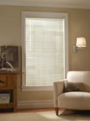 Aluminum blinds - At Last...Window Coverings!