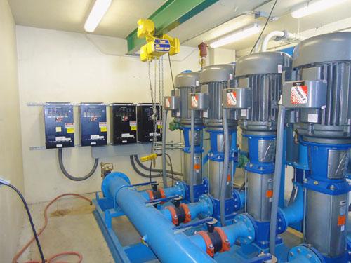 Hydronic Pump Harmonic Filters