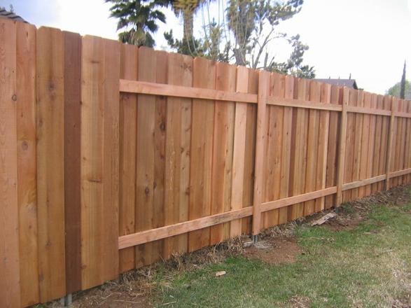 Western Red Cedar Fence - Mesa Fence Co.