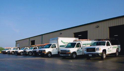 Our Fleet - MG Mechanical Contracting, Inc.