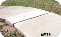 Concrete Grinding - After - SABER Concrete & Foundation Leveling Solutions