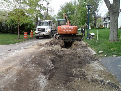 Waterline Replacement, City of Columbus