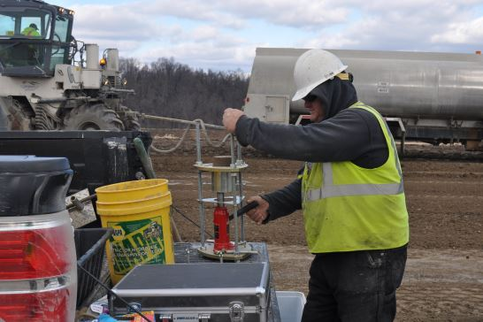 Harrison West Compression Site Stabilization (Gas & Oil Exploration), Harrison County, Ohio - DHDC Engineering Consulting Services, Inc.