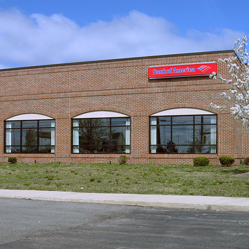 Bank of America Parking Lot - The Lind Paving Company, Inc.