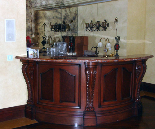 Decorative Bar - Millwork - Cabinet Plus, Inc.