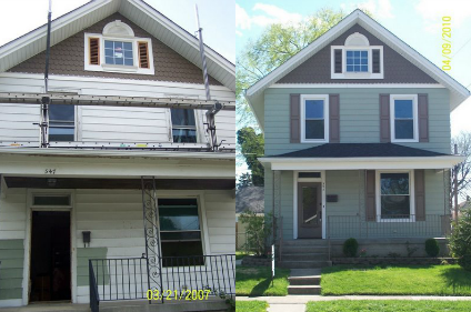 Siding & Trim (Before & After)