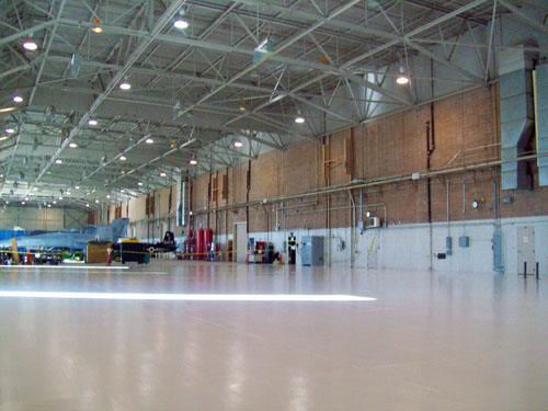 Airport Hangar - Bob Jones Painting, Inc.