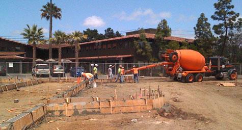 Concrete Construction  - PSR West Coast Builders, Inc.