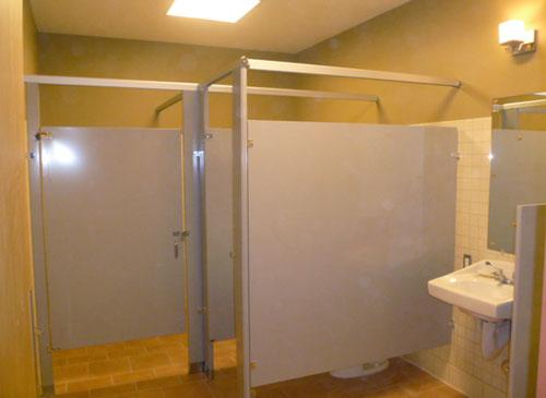 Panera Bread Bathroom - Saddleback Construction Specialties
