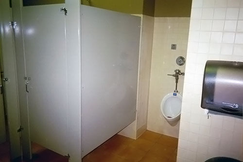 Panera Bread Bathroom 1 - Saddleback Construction Specialties