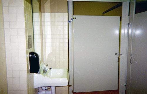 Panera Bread Bathroom 2 - Saddleback Construction Specialties